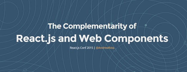 Complementarity of React and Web Components